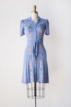 vintage 1940s dress | 40s dress | For Your Delight Dress #vintage #1940sdress