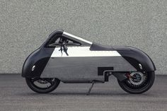 The Vectrix VX-1 Maxi Scooter Gets Reworked Into an Ultra-Streamlined Motorcycle