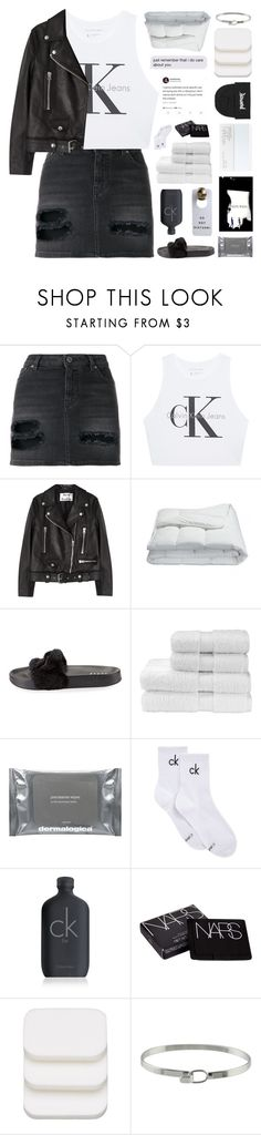 """""""3:26AM"""" by sabad ❤ liked on Polyvore featuring Givenchy, Calvin Klein Jeans, Acne Studios, NARS Cosmetics, Frette, Puma, Christy, Dermalogica, Calvin Klein and COVERGIRL"""