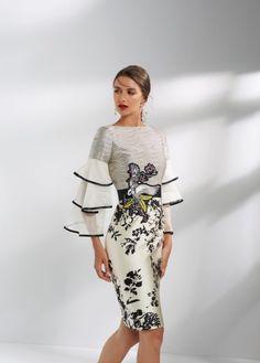 Vestido corto de Matilde Cano, colección 2018
