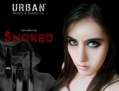 An advertisement for a makeup at project.