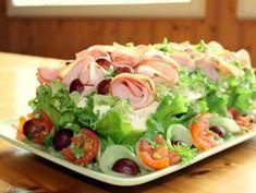 Beach House Kitchens, Home Kitchens, Bruschetta, Cobb Salad, Sushi, Tacos, Mexican, Meat, Chicken