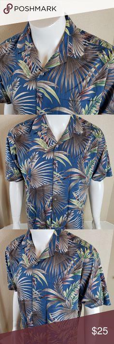 3e5091d5c Tori Richard USA Men's Hawaiian Camp Shirt Tori Richard USA Men's Hawaiian  Camp Shirt Size Large