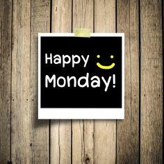 Il lunedì, il giorno dell'inizio. La sentite l'Energia che scorre veloce nel primo giorno della nuova settimana?