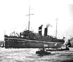SS Persia. The Wireless Age, Feb. 1916.