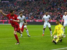 Beinahe die Führung-16.Sptg: Bayern München-Ingoldstadt 2:0