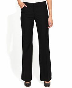 INC International Concepts Pants, Curvy-Fit Suiting Trousers