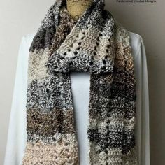 Mountain Land Scarf