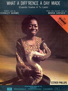 ESTHER PHILLIPS - WHAT A DIFF RENCE A DAY MADE - SOUL JAZZ - MUSIKNOTE P/VOC