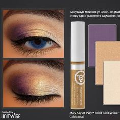 Get this HOT, TRENDY LOOK today! If you love makeup like I do and esp the eyes; you are going to LOVE IT!!!!!  Everything is in stock in my home store so NO WAITING; how FABULOUS is that?  MESSAGE ME or email me or call me Patricia Medrano 361-232-9549 or patmedrano100@gmail.com or go to my website.  www.marykay.com/patmedrano1