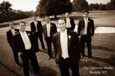 www.glenmarstudio.com #glenmarstudio #weddingphotographers #groom #bridalparty #groomsmen #bestman #suits #boutonniere #weddingday #brideandgroom #marriage #love #couple #longislandweddings #newyork