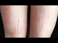 Scratches (3 kinds) - SFX makeup Tutorial - YouTube Wound Makeup, Sfx Makeup, Beauty Makeup, Special Makeup, Special Effects Makeup, Terminator Costume, Fake Wounds, Media Makeup, Makeup Tutorials Youtube