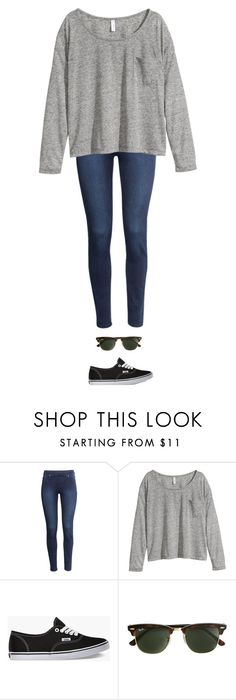 """Unbenannt #6068"" by juliacheriexo ❤ liked on Polyvore featuring H&M, Vans and J.Crew"