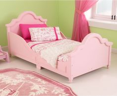 Kidkraft Raleigh Toddler Bed Pink - Toddler Beds at Hayneedle
