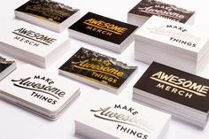 With six different metallic foil options to choose from and available with standard or rounded corners, we've got everything you need to create truly eye-catching business cards. Foil Business Cards, Custom Business Cards, Metallic, Eye, Create, How To Make, Personalized Business Cards