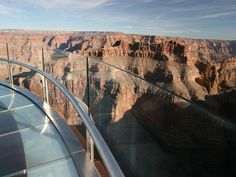 Grand Canyon SkyWalk. I hope to be able to experience this at least once in my lifetime!