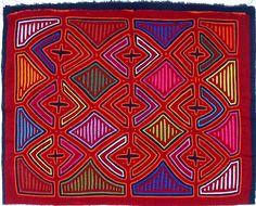 Mola  Textile Art from Panama