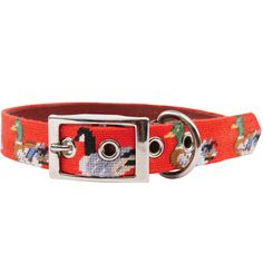 "Smathers and Branson ""Duck Duck Goose"" Needlepoint Collar - [$75.00]"