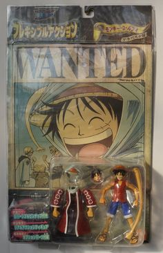 One Piece : Figurine Luffy ( Bandai ) http://www.japanstuff.biz/ CLICK THE FOLLOWING LINK TO BUY IT ( IF STILL AVAILABLE ) http://www.delcampe.net/page/item/id,0374116579,language,E.html