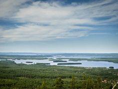 Siljan See in Schweden.