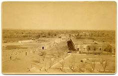 The start of El Paso....great historic picture