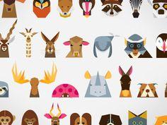 Creative Animals, Animal, Minimalist, Illustration, and Wildlife image ideas & inspiration on Designspiration Art And Illustration, Cute Animal Illustration, Graphic Design Illustration, Animal Illustrations, Motifs Animal, Animal Graphic, Grafik Design, Animal Design, Poster