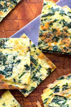Greens and Garlic Frittata to Go Recipe - NYT Cooking