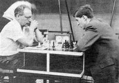 1962 Mikhail Botvinnik vs Bobby Fischer 15th Olympiad at Varna