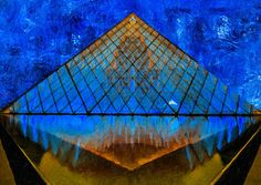 use copon GYKNN at checkoat for special discount Louvre Pyramid, Landscapes, Building, Artwork, Travel, Paisajes, Scenery, Work Of Art, Viajes