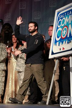 Actor Austin St. John at the Salt Lake Comic Con 2015 Press Conference