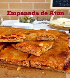 Ñam Ñam quien quiere un trocito de mi empanada de Atun y tomate ?? #milicocinillas #empanadas #atun #tomate