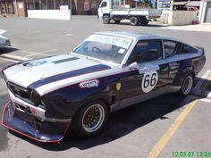 B210 120Y Datsun racing Datsun 210, Old School Muscle Cars, Nissan Sunny, Classic Japanese Cars, Rally Car, Old Cars, Cars And Motorcycles, Touring, Race Cars