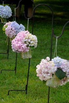 wedding hydrangeas - RJN Photography -- Rebecca Nagy