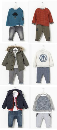 Adorable fall/winter 2013 styles at ZARA for baby boy through toddlers