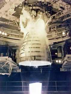 : Space Shuttle Main Engine (SSME) Test Firing