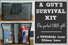 10 Fabulous Father's Day Gifts You Can Sew and He Will LOVE