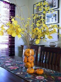 47 Cheap Diy Thanksgiving Decoration Ideas For Your Apartment Diy Thanksgiving Centerpieces, Fall Wedding Centerpieces, Thanksgiving Table, Tall Centerpiece, Centerpiece Ideas, Fall Home Decor, Autumn Home, Holiday Decor, Holiday Ideas