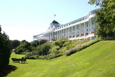 """From the movie """"Somewhere in Time"""".  Grand Hotel, Mackinac Island MI"""