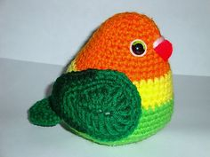 Ravelry: Fisher Love Bird pattern by Chiwaluv Amigurumi Critters