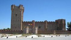 Castillo de la Mota. Medina del Campo. Spain.  En este castillo pasó sus últimos días Isabel la Católica.