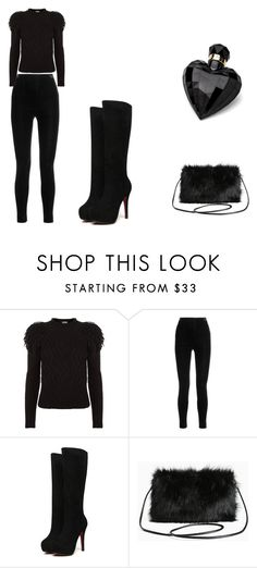 """""""Untitled #48"""" by viktorijak2006 ❤ liked on Polyvore featuring Temperley London, Balmain, Torrid and Lipsy"""