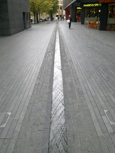 Not in a garden but quite nice, very subtle. The Rill, More London, 17/10/09 by Rhab Adnam, via Flickr