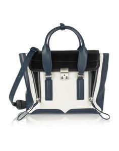 76ac559cb8df6 3.1 Phillip Lim  The Pashi  Medium Leather Trapeze Bag in Off-White