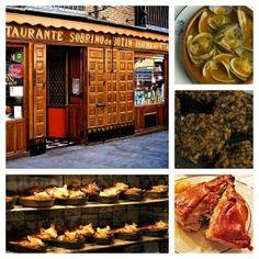 Sobrinos de Botin, the oldest restaurant n Europe, apparently