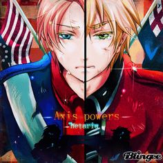 Hetalia - Revolutionary War / US and UK have such an interesting dynamic--and it's probably one of my favorite things in the whole Hetalia concept