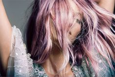 {style inspiration | two lovely things : pink hair & sequins} by {this is glamorous}, via Flickr