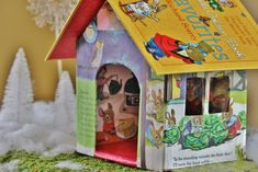 The Storybook House - My Sweet Cottage Crafts To Make, Diy Crafts, Diy Craft Projects, Holiday Crafts, Easy Diy, Christmas Decorations, Cottage, Bird, Sweet