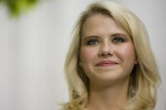 By all accounts, Elizabeth Smart has come into her own since the horrifying story of her kidnapping at age 14 from her Salt Lake City home first made headlines exactly a decade ago on Tuesday. Here, Smart speaks to the media after her kidnapper, Brian David Mitchell, received a life sentence Wednesday, May 25, 2011. (Djamila Grossman     The Salt Lake Tribune)