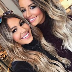 Sarah Knuth: Such a fun day with my Hollie Woodward - Modern Blonde Ambre Hair, Olive Skin Blonde Hair, Hair Color For Tan Skin, Brown Blonde Hair, Hair Color And Cut, Cool Hair Color, Brown Hair Colors, Ash Hair, Hair Colour