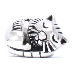 NEW DESIGN - IN STOCK LATER THIS WEEK:  BELLA FASCINI® Sleepy Kitty Cat Bead Charm 925 Sterling Silver Fits Pandora, Chamilia & Compatible Brands Bella Fascini http://www.amazon.com/dp/B018F0544S/ref=cm_sw_r_pi_dp_7eqvwb17VSW67